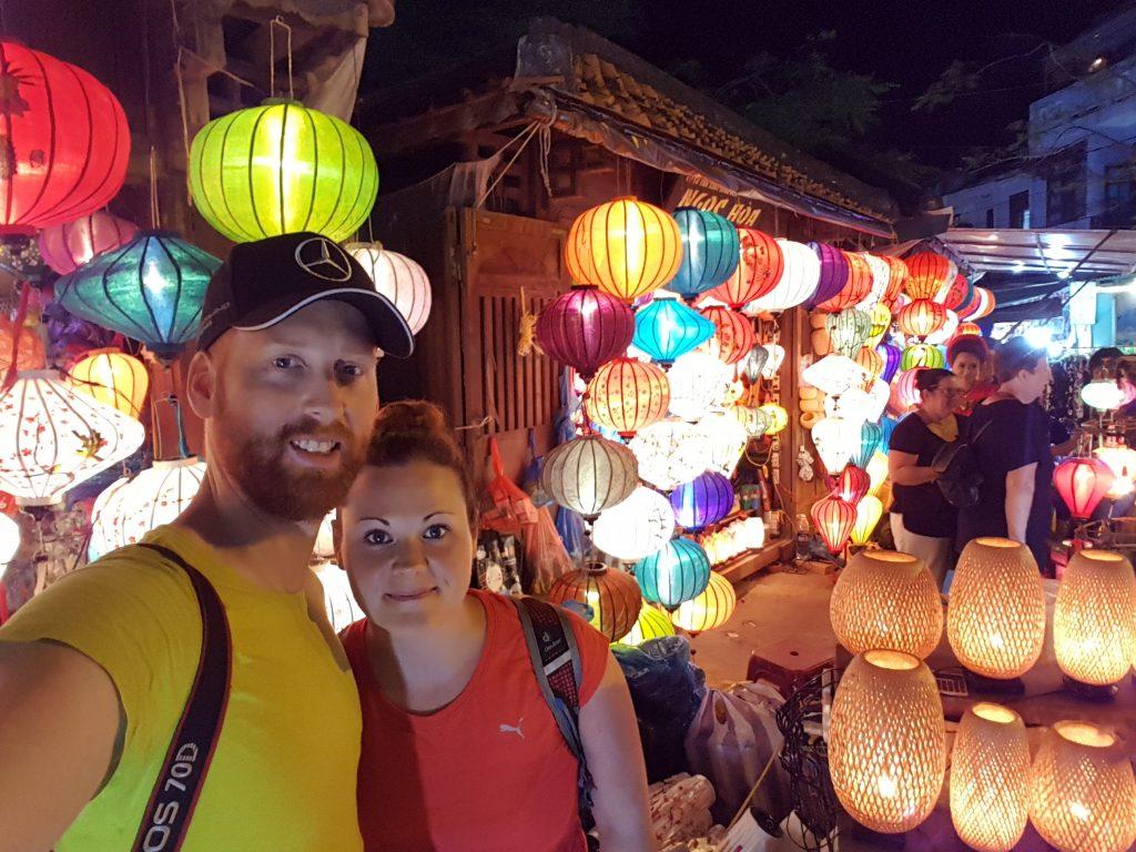 Lampions in Hanoi, Vietnam