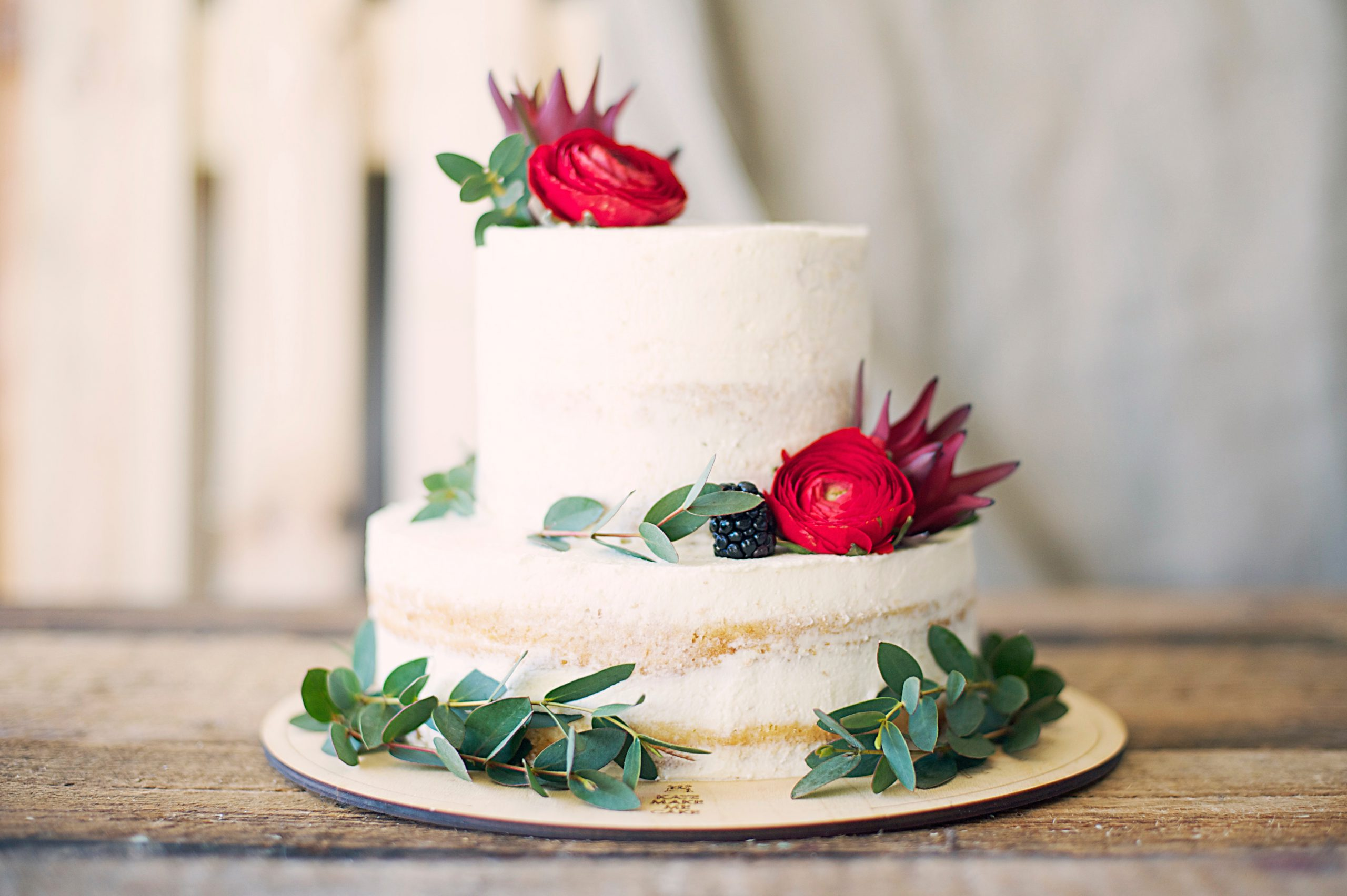 close-up-photography-of-cake-with-flower-decor-1070850